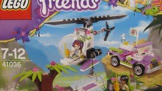 Lego Friends - Jungle Bridge Rescue - 41036 Building Set