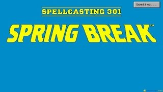 Spellcasting 301 gameplay (PC Game, 1992)