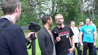 """Making-of """"TechniSat tritt beim Sat-Schüssel-Rennen gegen HD+ an"""""""