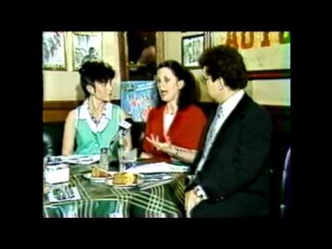 1985 Centel Cable TV's Dan Hogan-Connie Doyle host St. Joseph's Irish Show @ Bennigan's Lakeland FL