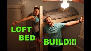 How To Build A DIY Loft Bed
