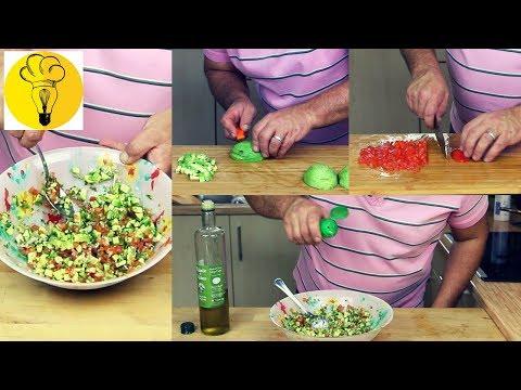 recette-🍽-comment-faire-un-guacamole-d'avocats-et-tomates-|-cuisine-en-pratique
