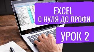 Видео уроки Эксель MS Excel №2 Формулы, ВПР, Выпадающие списки