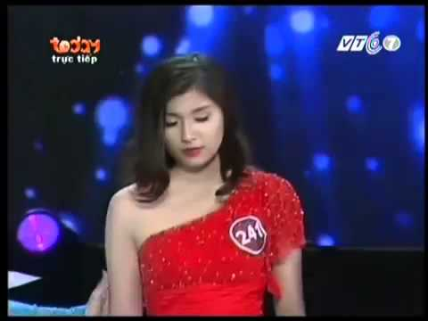 Chung kết Nữ Sinh viên Việt Nam duyên dáng 2013 Top 5 thi Ứng xử