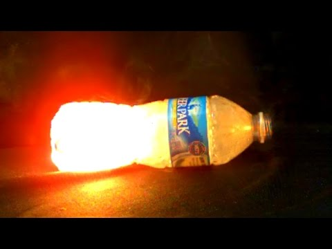 Water Bottle Explosion at 62,000 FPS - Slow Mo Lab - Firecrackers Explosion Experiment