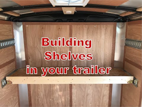Horizon VLOG #18 | Building Shelves In My Trailer