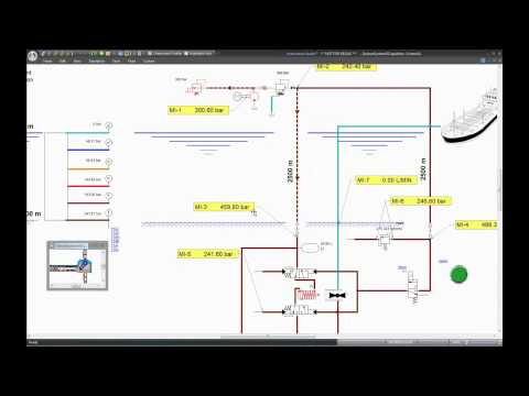 Modeling Surface and Subsea System with Automation Studio P6