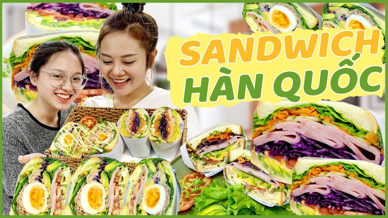 Vào Bếp Cùng Hải Yến: Tự làm SANDWICH KIỂU HÀN QUỐC cho mùa hè đi picnic