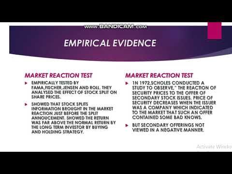 Efficient market theory with forex