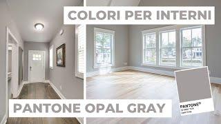 Creare il giusto abbinamento tra il colore alle pareti in camera da letto con i mobili scuri non è sempre immediato. Colori Per Pareti Come Abbinare Pantone 2020 Opal Gray Analisi Colore 3 Youtube