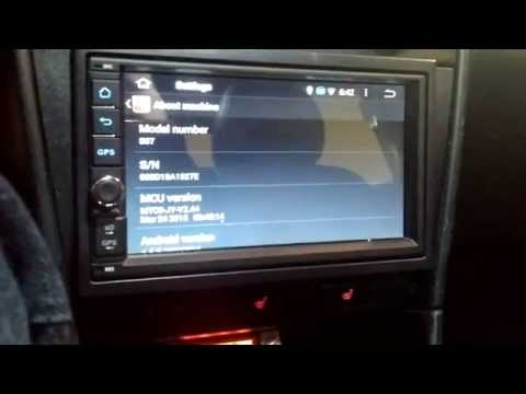 ouku din dvd android car stereo head unit review 8 50