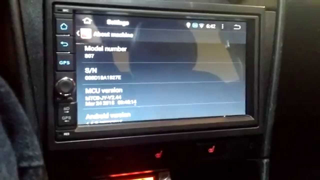 Android head unit from ebay (car stereo)