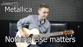 Metallica - Nothing else matters (Видео как играть на гитаре)