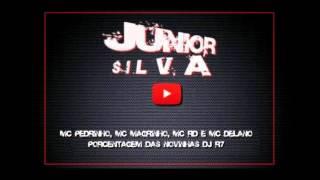 MC Pedrinho, MC Magrinho, MC RD e MC Delano   Porcentagem Das Novinhas   DJ R7~1