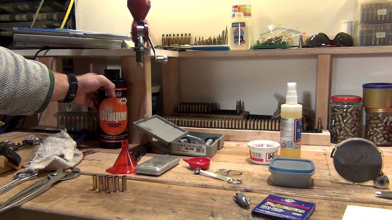 Reloading 38 Special on a single stage press - HD