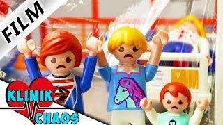 Playmobil Film deutsch MAMA HOCH ANSTECKEND Familie Vogel zu Besuch im Krankenhaus Klinikchaos