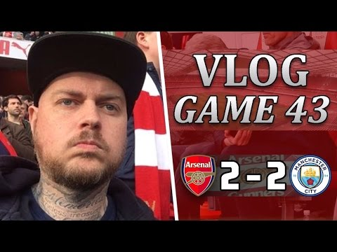 Arsenal 2 v 2 Man City | Another Poor Result That Does Not Help Us | Matchday Vlog | Game 43