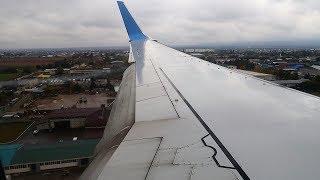 Посадка в Нальчике Boeing 737-800 Победа