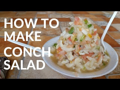 HOW TO MAKE CONCH SALAD | NASSAU, BAHAMAS | FISH FRY