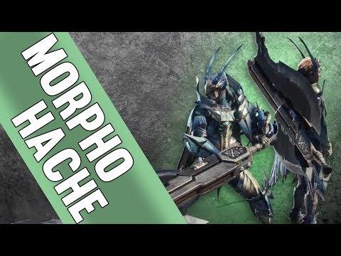 GUIDE MORPHO HACHE - Monster Hunter World