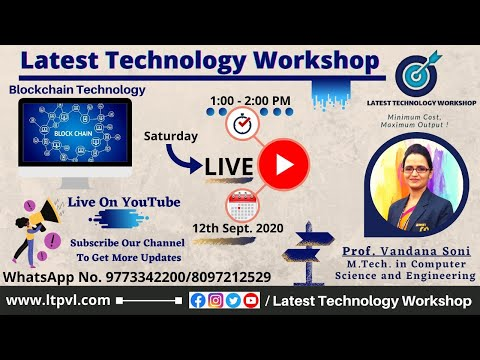 Blockchain Technology (LIVE) On LTW YouTube Channel