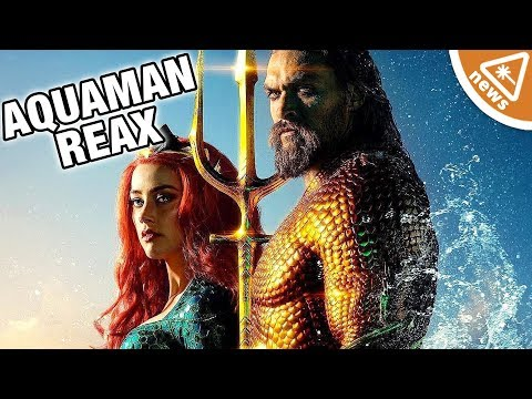 Do Aquaman First Reactions Have Fans on Board or Jumping Ship? (Nerdist News w/ Jessica Chobot)