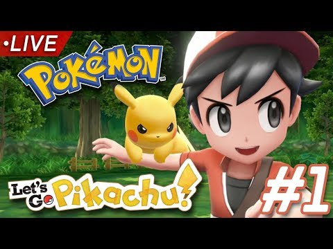 POKÉMON LET'S GO PIKACHU PART ONE (Two Player Let's Play)
