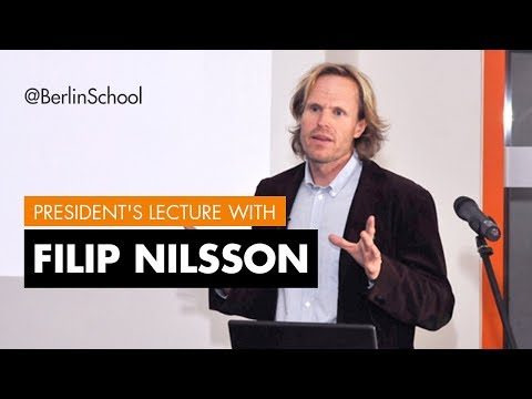 President's Lecture Filip Nilsson