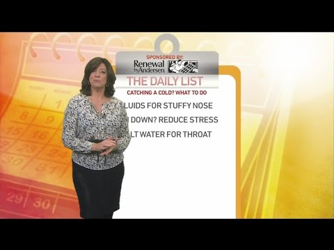 Daily List: 3 Signs a Cold is Coming On