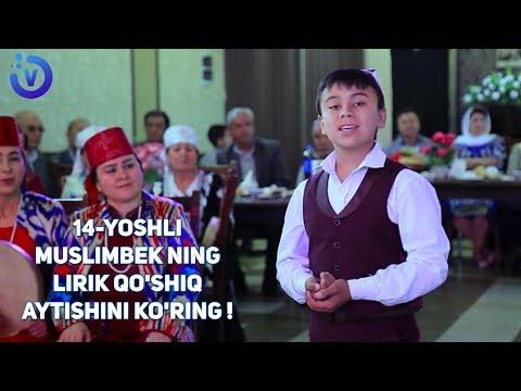 14-yoshli Muslimbek Abduholiqov - Naylayin   14-ёшли Муслимбек