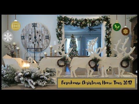 CHRISTMAS HOME TOUR 2017  WHITE WINTER WONDERLAND