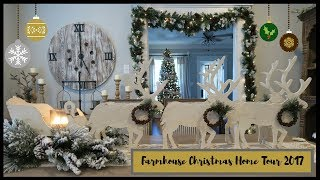 CHRISTMAS HOME TOUR 2017 | WHITE WINTER WONDERLAND