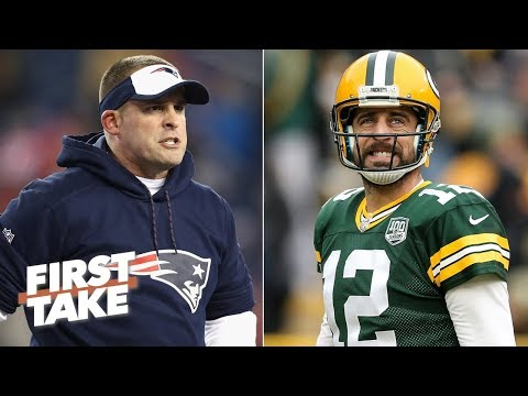 Aaron Rodgers would respect Josh McDaniels as head coach - Damien Woody | First Take