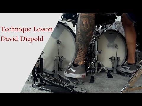 David Diepold - Hand- & Foot-Technique Lesson   Drum-Technique Academy