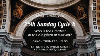25th Sunday Cycle B