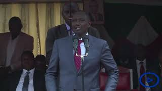 DP Ruto promises the people of Kisii to work with the leaders to bring development