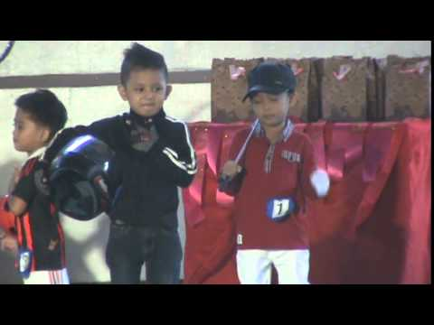 UB Kiddie King & Queen 2015 Sports Wear final ramp boys