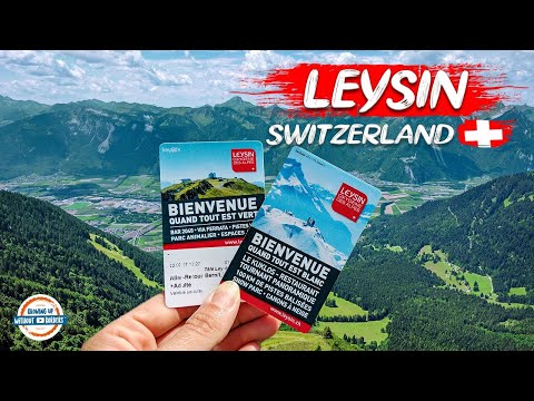Join us for a tour of Leysin Switzerland and a view from the top of the world!