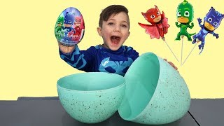 Disney PJ Masks Surprise Eggs Toys - Learn and Play With