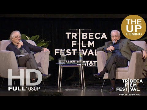 Robert De Niro and Martin Scorsese at director's talk panel at Tribeca Film Festival 2019