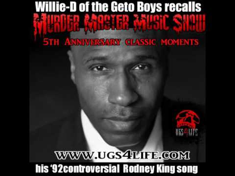 Willie-D of the Geto Boys Recalls Controversial F-ck Rodney King track