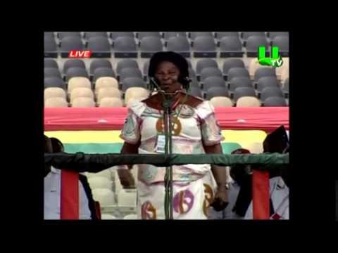 Akua Donkor Attacks Kwame Nkrumah and Ex-prez Kufour At NDC Congress