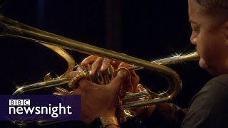 Proms Preview: LIVE Christian Scott plays Gunslinging Birds by Charles Mingus - BBC Newsnight