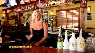 How To Make A Key Lime Pie Martini | Island Dogs Bar Key West