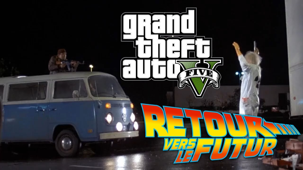 VF Retour Vers Le Futur Sur GTA 5 Remake LES LIBYENS