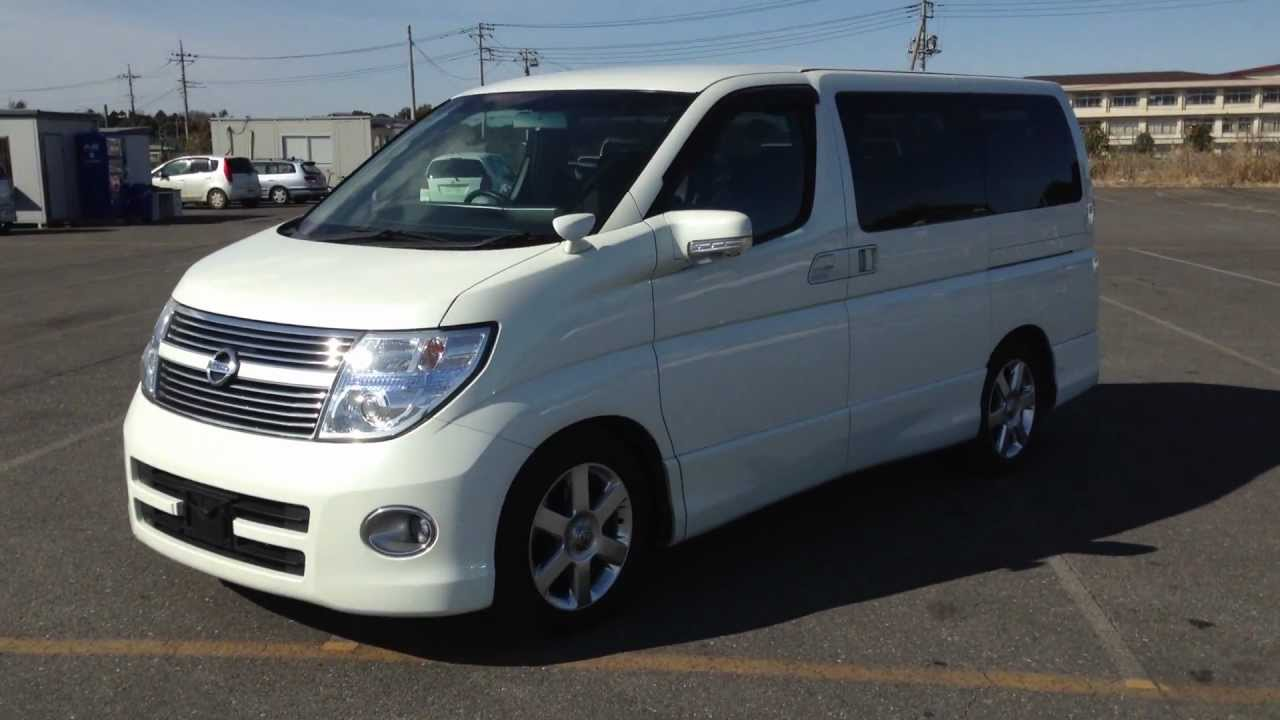 2008 Nissan Elgrand Highway Star-Top Spec And Immaculate