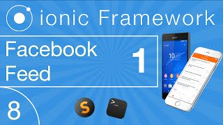 Ionic Cross Platform Development Tutorial 08: Facebook Feed Integration Teil 1