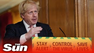 Boris Johnson gives an update on the coronavirus outbreak