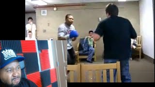 DJ Akademiks Shows Old Boxing Footage From College