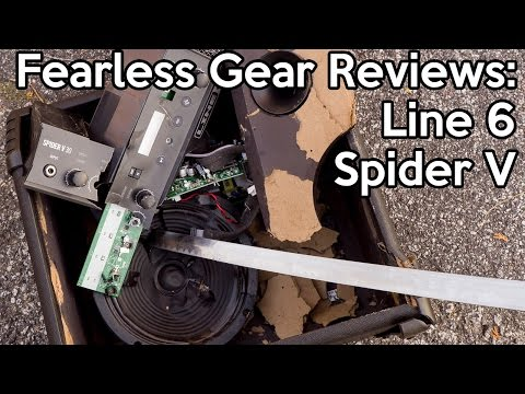 Fearless Gear Review: LINE 6 SPIDER V